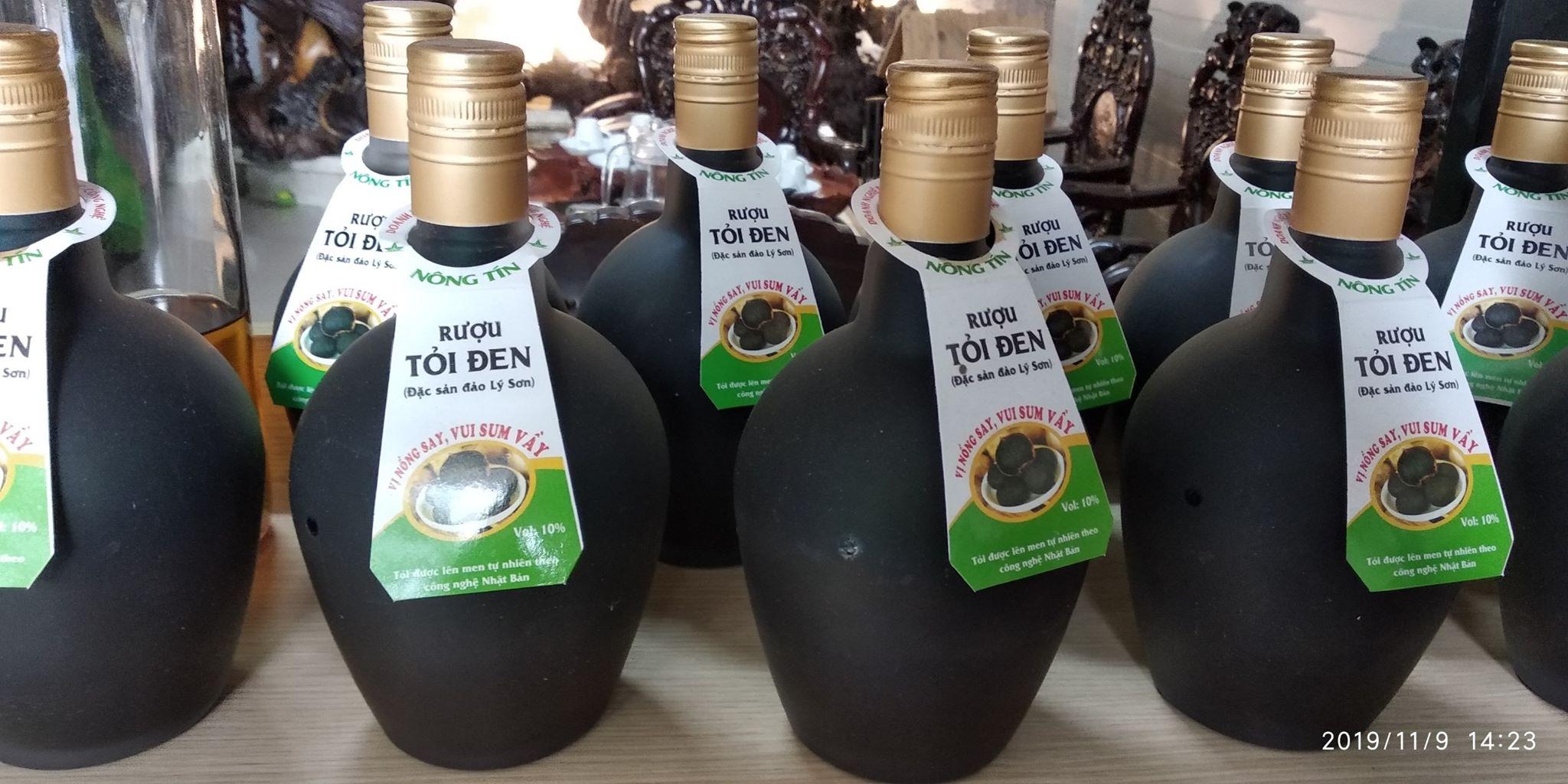Rượu tỏi đen Nông Tín